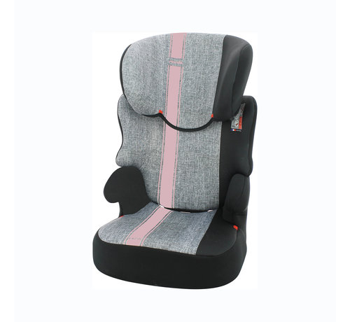 Nania Car seat Befix - Highbackbooster Group 2 and 3 - Grey