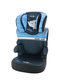 Nania Car seat Group 2/3 - Befix Adventure - Shark