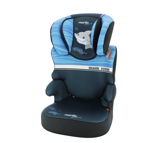 Nania Car seat Befix - Highbackbooster Group 2 and 3 - Shark
