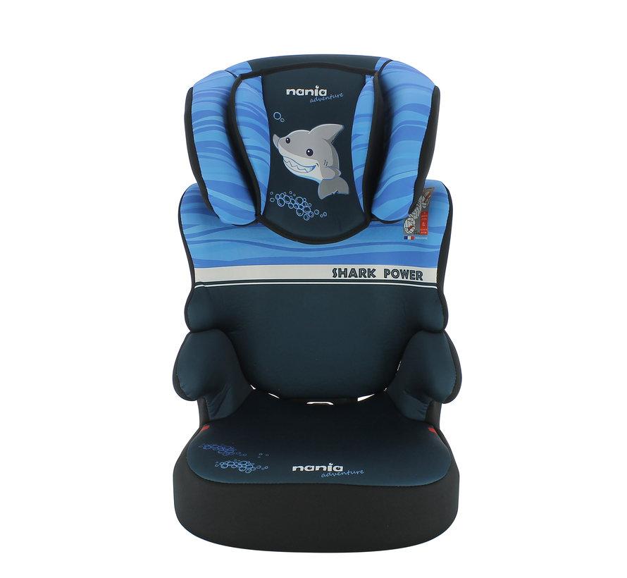 Car seat Befix - Highbackbooster Group 2 and 3 - Shark