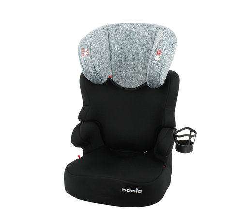 Nania Car seat Befix - Highbackbooster Group 2 and 3 - Silver line