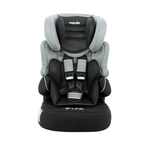 Nania Beline - autostoel groep 1/2/3 - van 9 tot 36 kg - Luxe Grey