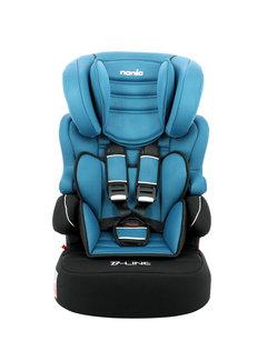Nania Autostoel groep 1/2/3 - Beline Luxe - Blue