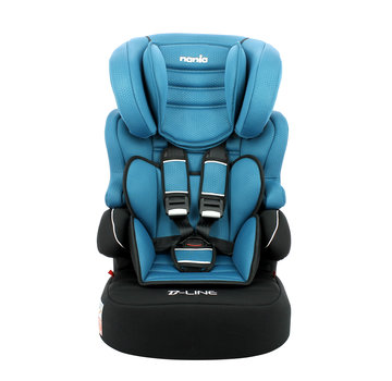 Nania Highback Booster Beline - Group 1/2/3 - Luxe Blue