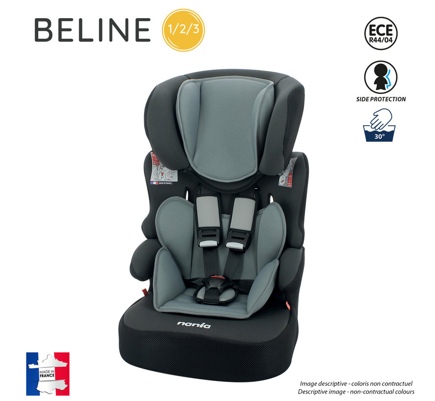 Kinderautositz BeLine - Gruppe 1/2/3 (9-36 KG) - Animals Tiger