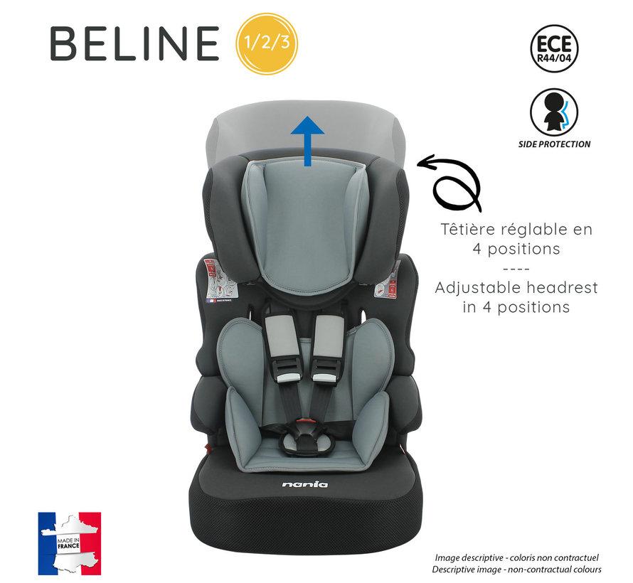 Kinderautositz BeLine - Gruppe 1/2/3 (9-36 KG) - Animals hai