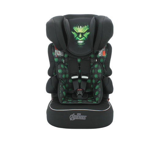 Marvel Kinderautositz BeLine - Gruppe 1/2/3 (9-36 KG) - Hulk