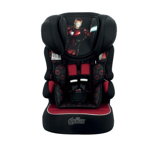 Marvel autostoel BeLine - Meegroei Autostoel Groep 1/2/3 - Iron Man