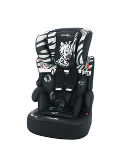 Nania Autositz Beline - Gruppe 1/2/3 - Animals Zebra
