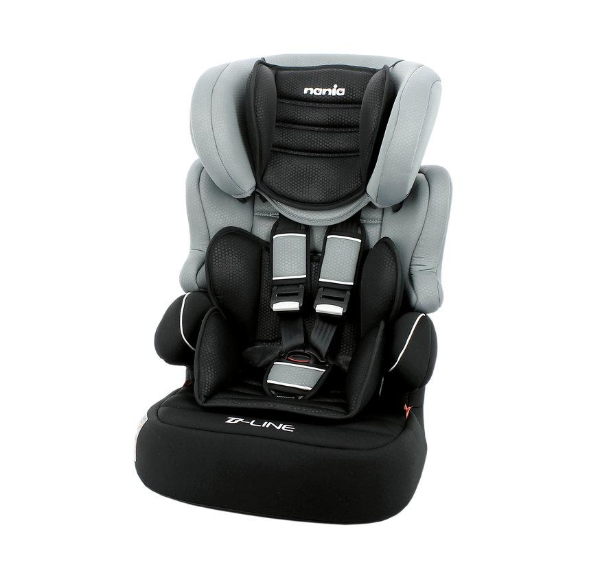 Beline - autostoel groep 1/2/3 - van 9 tot 36 kg - Luxe Grey