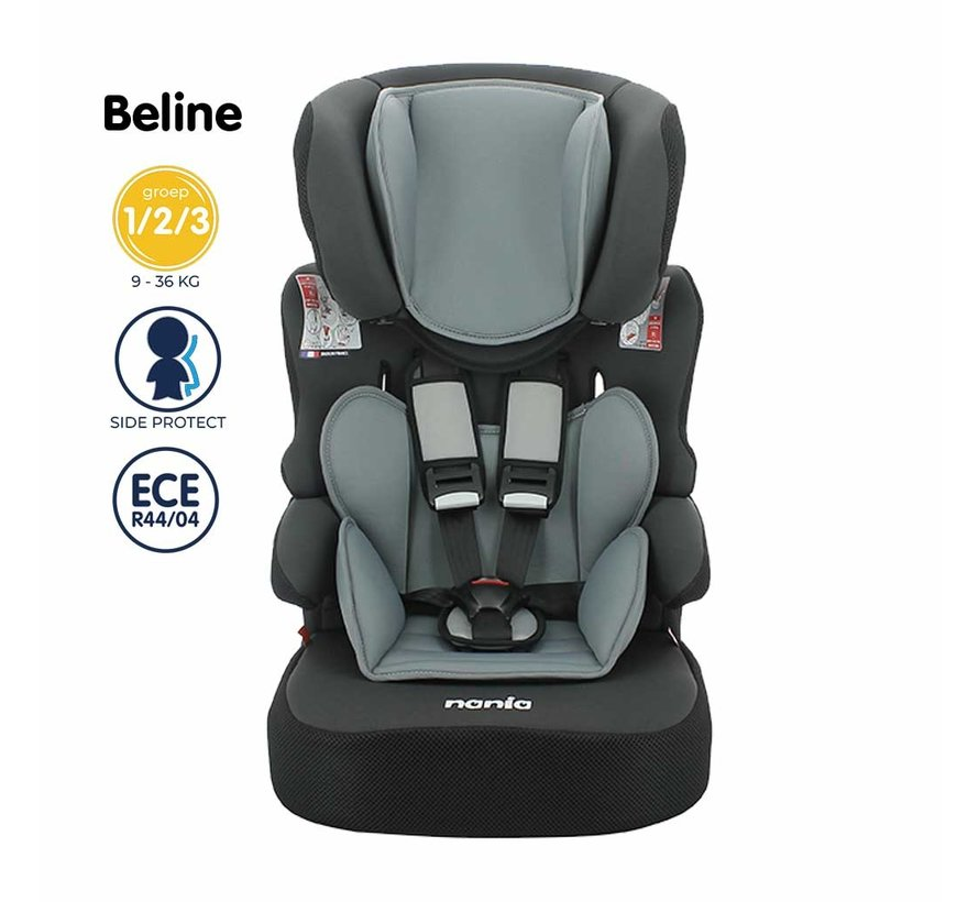 Beline - autostoel groep 1/2/3 - van 9 tot 36 kg - Linea Blue