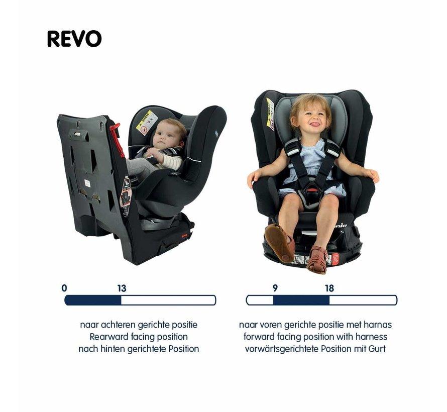 drehbarer Autositz Nania Revo  Gruppe 0-1-2 - Luxe Grey