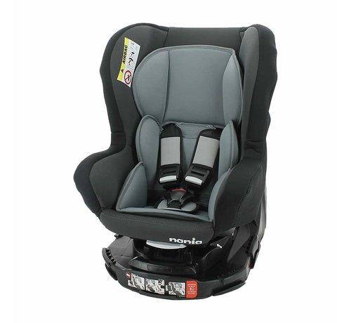 Nania Revo 360° - Draaibare autostoel Groep 0/1/2 - Acces Grey