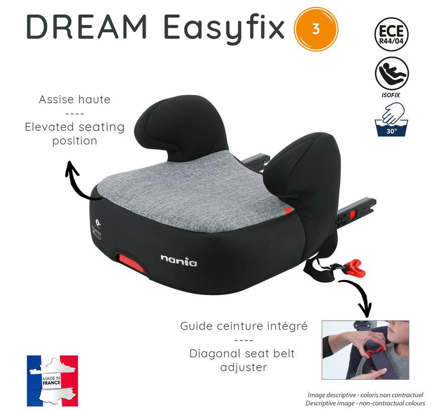 Isofix Sitzerhöhung - DREAM easyfix - Gruppe 3 - Verschiedene Farben