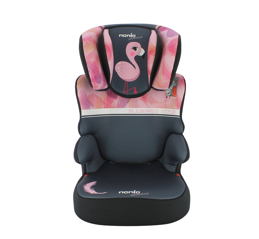 autostoel groep 2 en 3 - Befix adventure - Flamingo