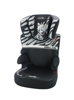 Nania Car seat Group 2/3 - Befix Adventure - Zebra