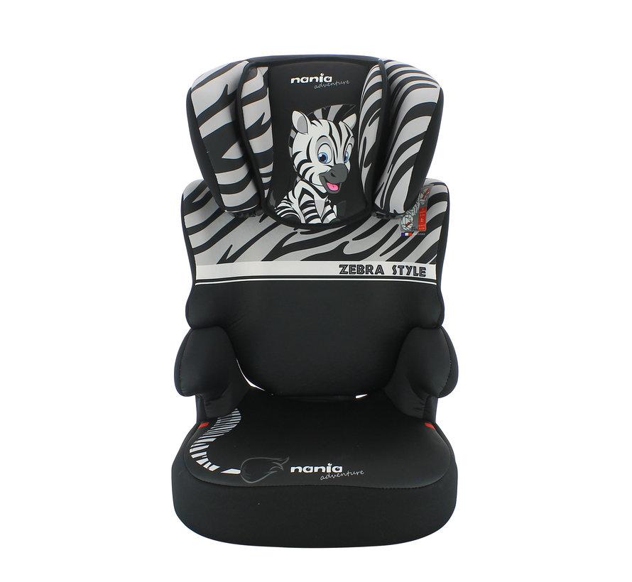 autostoel groep 2 en 3 - Befix adventure - Zebra