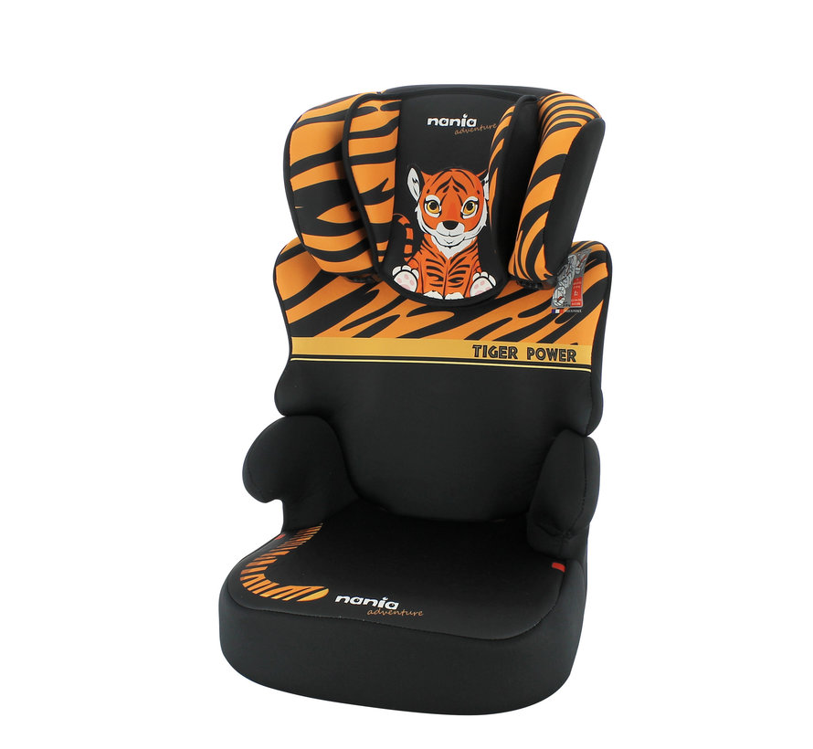 Car seat Befix - Highbackbooster Group 2 and 3 - Tiger