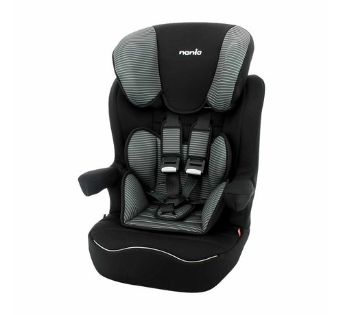 Nania ISOFIX Highback booster - I-Max Tech Grey - Group 1/2/3 (9-36 KG)