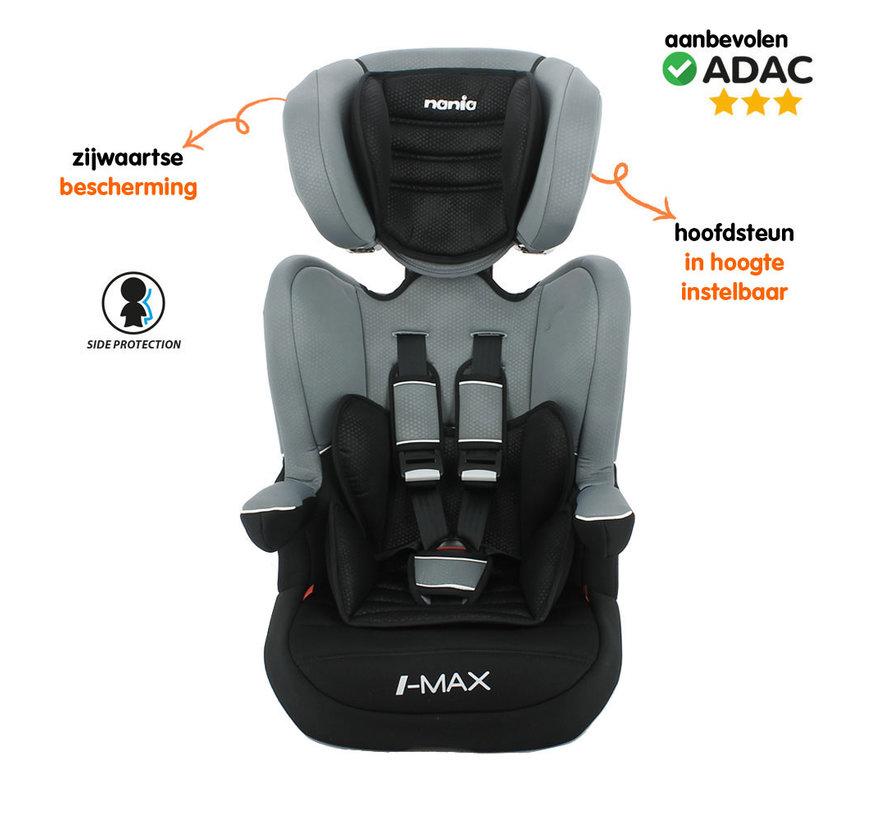 autostoel i-Max - Meegroei Autostoel Groep 1/2/3 - van 9 tot 36 kg - Access Grey