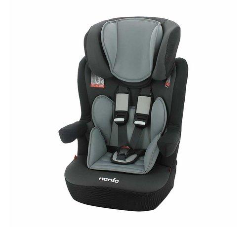 Nania autostoel i-Max - Meegroei Autostoel Groep 1/2/3 - van 9 tot 36 kg - Access Grey