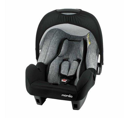 Nania Baby Autositz - Beone SP universal - Gruppe 0+ - 0 bis 13 kg - Silver line