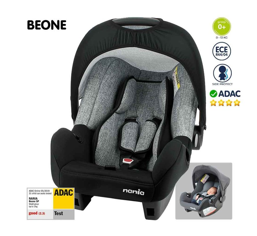 baby car seat - Beone SP universal - Group 0+ - from 0 to 13 kg - Silver line