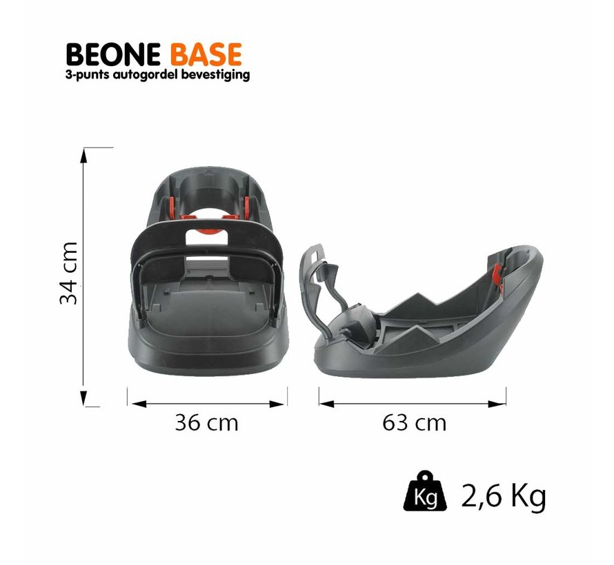Beone Fix Base (for Beone car seat)