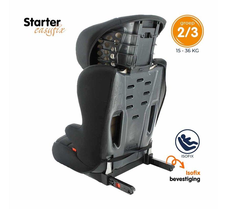 Starter Easyfix - Isofix Autositze Gruppe 2 und 3 - Tech Pink