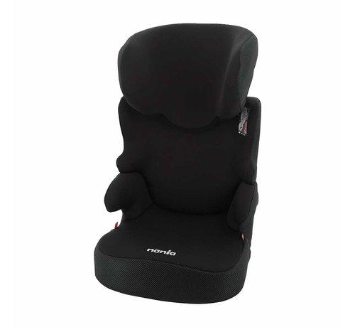 Nania autostoel Befix - Kinderautostoel - groep 2 en 3 - Zwart