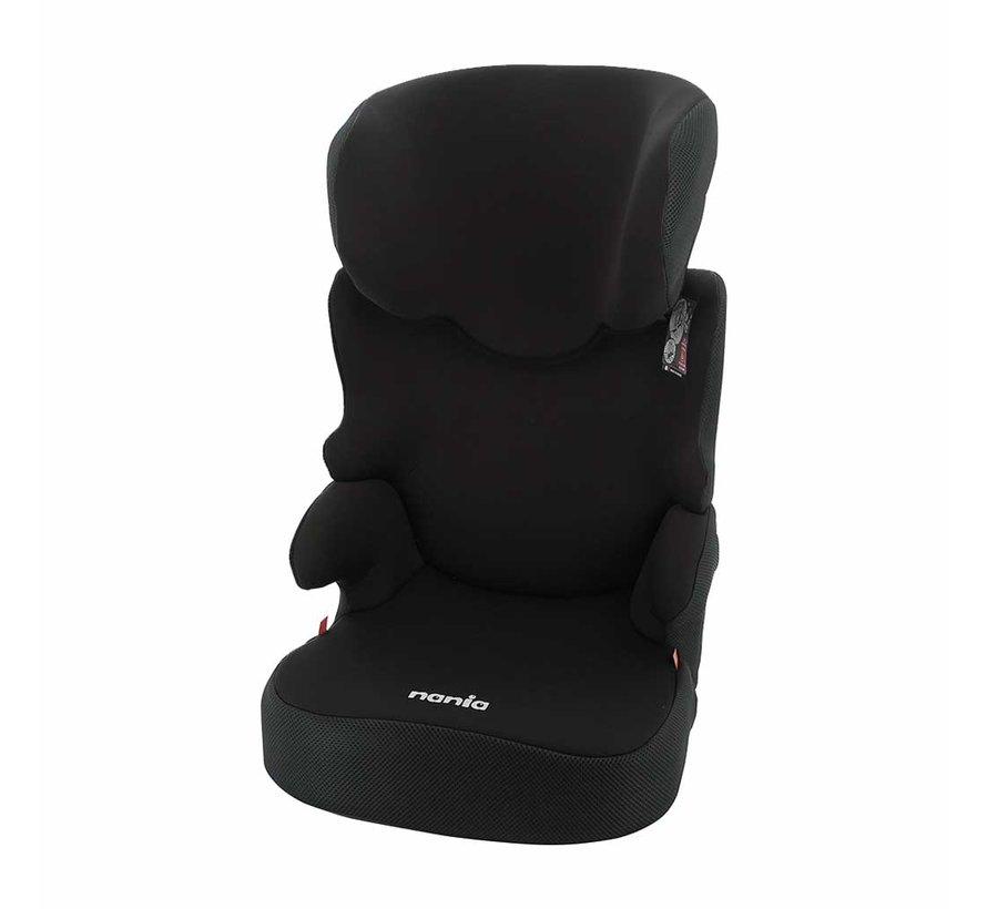 Autositze Befix - Kindersitze Gruppe 2 und 3 - Schwarz