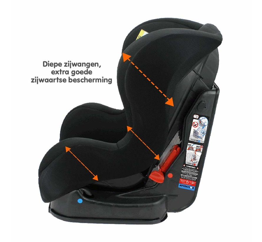 Infant Car seat Cosmo SP - Group 0/1/2 (0-25 kg) - Black