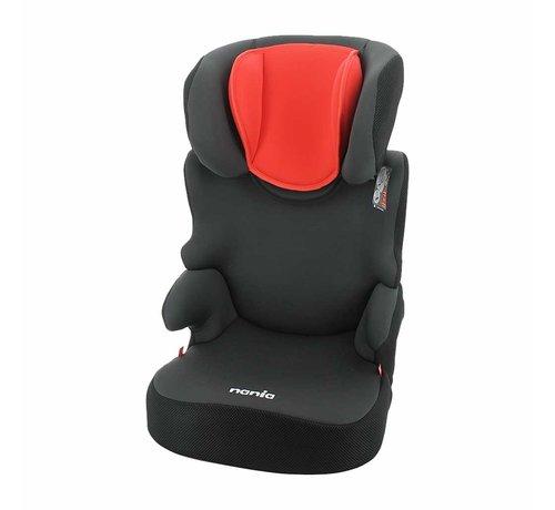 Nania Car seat Befix - Highbackbooster Group 2 and 3 - Grey