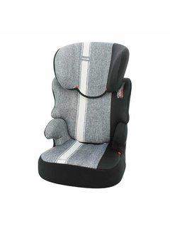 Nania autostoel Befix Linea - groep 2 en 3 - 15 tot 36 kg - Grijs, Wit