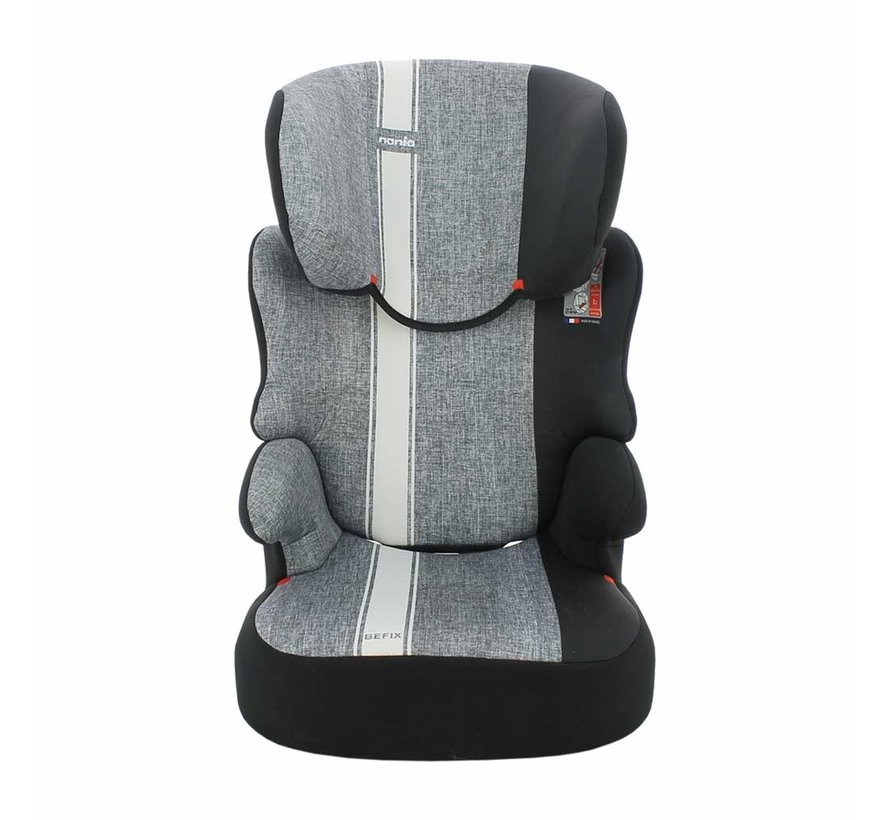 Car seat Befix Linea - Group 2 and 3 - 15 to 36 Kg - Grey, White
