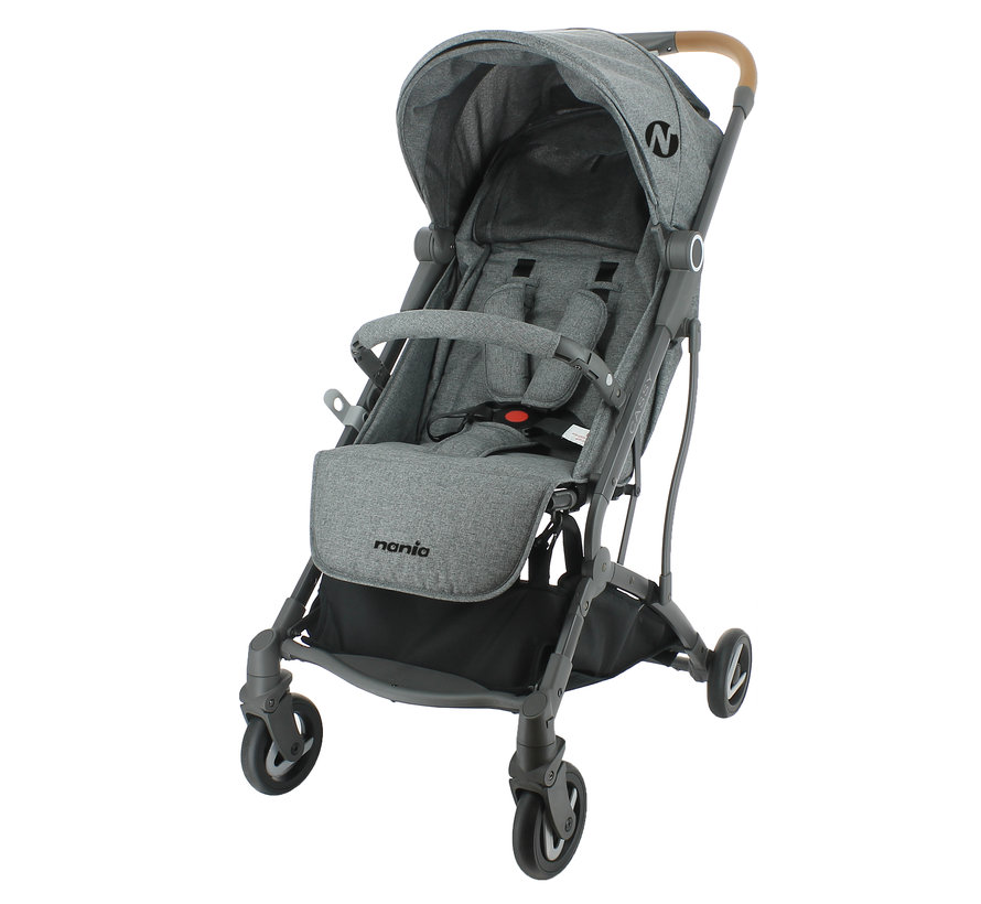 Cassy - Pushchair - 6 to 36 months - Light and manoeuvrable - Grey