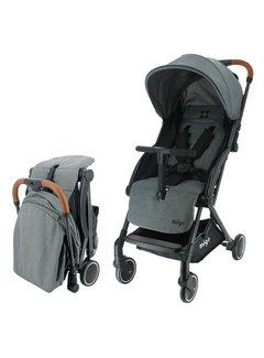 Migo GAYA Kinderwagen - 0 bis 36 Monate - Leicht und wendig - Grau