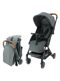 Migo GAYA Kinderwagen - 0 tot 36 maanden - Licht en wendbaar - Grijs