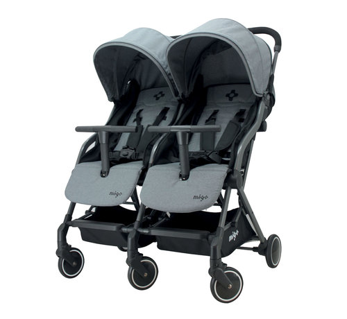 Migo GAYA TWIN - Duo-Kinderwagen - von 0 bis 36 Monate