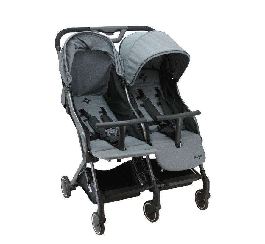 GAYA TWIN - Duo-Kinderwagen - von 0 bis 36 Monate
