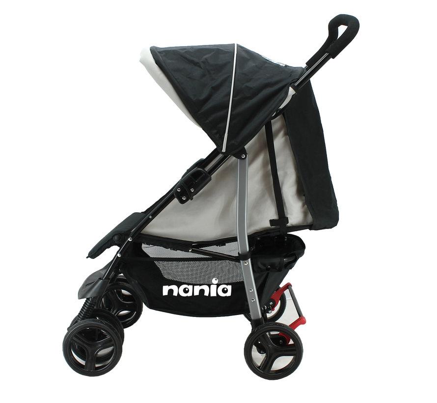 Texas 2 in 1 Kinderwagen - Snel opvouwbare wandelwagen - Inclusief groep 0+ autostoel