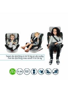 Safety Baby isofix Autositz Seaty - 360 ° drehbar - Gruppe 0/1/2/3 (!)