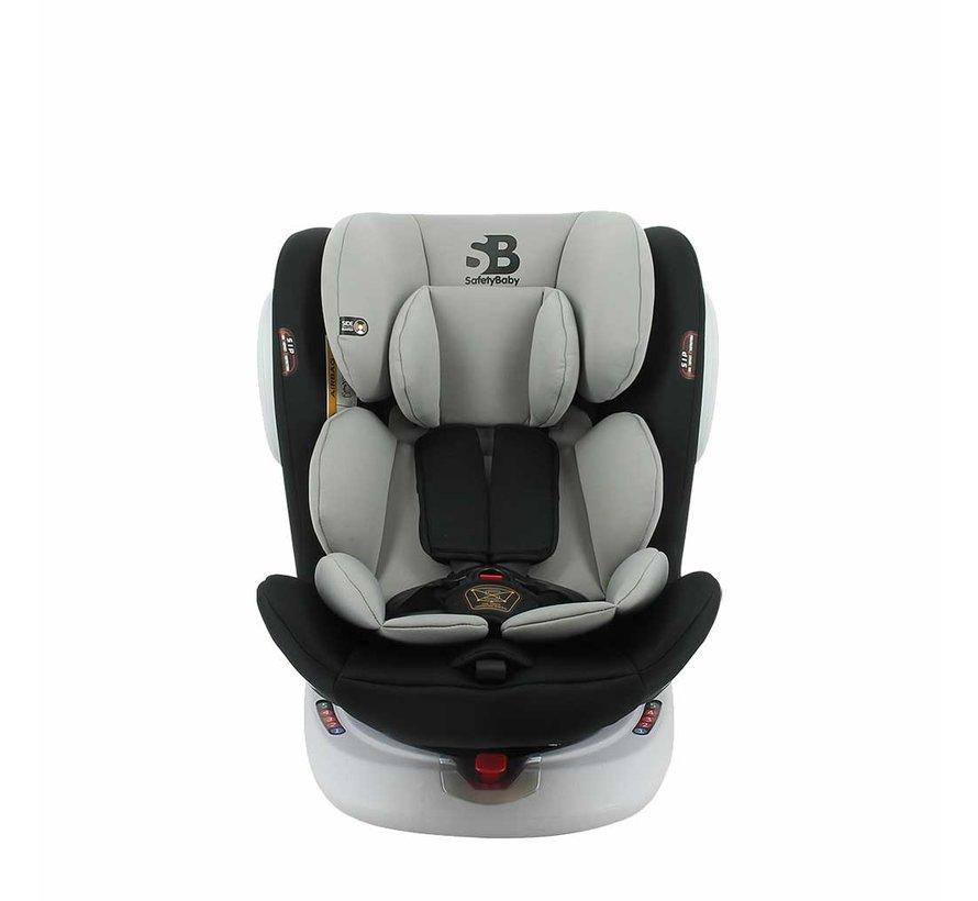 Autositz Seaty - 360 drehbar - Gruppe 0/1/2/3 (0-36Kg) - Gray