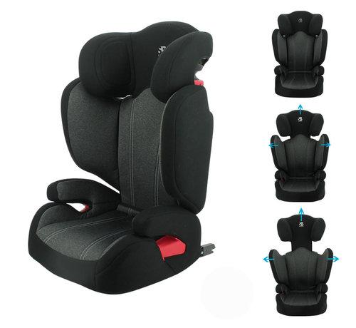 Safety Baby isofix autostoel Flash - groep 2/3  - van 15 tot 36 kg - Donkergrijs