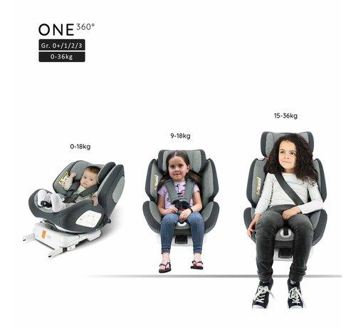Migo isofix car seat ONE 360° - Rotating seat - group 0/1/2/3