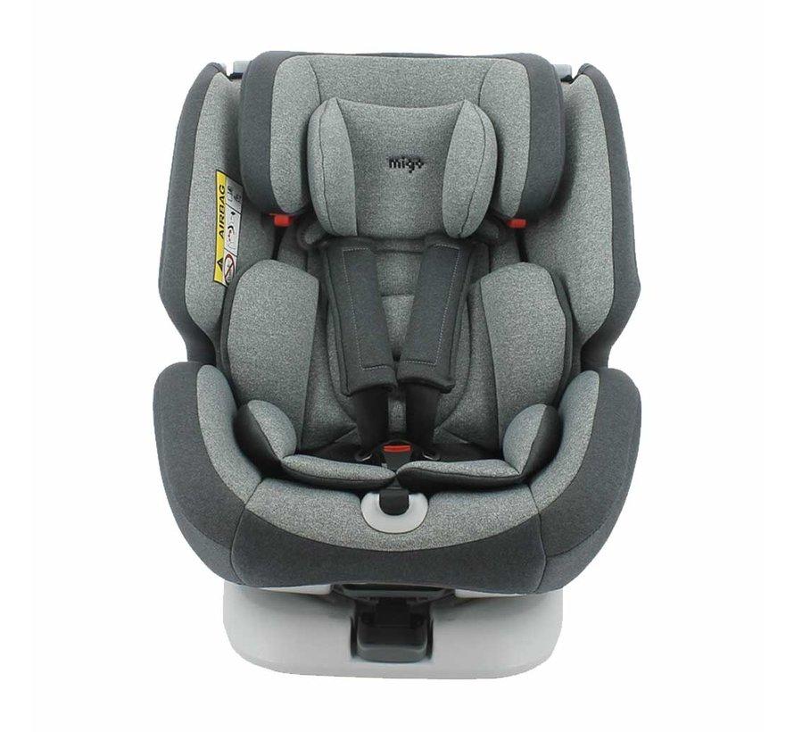 isofix autostoel ONE 360° - draaibaar - groep 0/1/2/3
