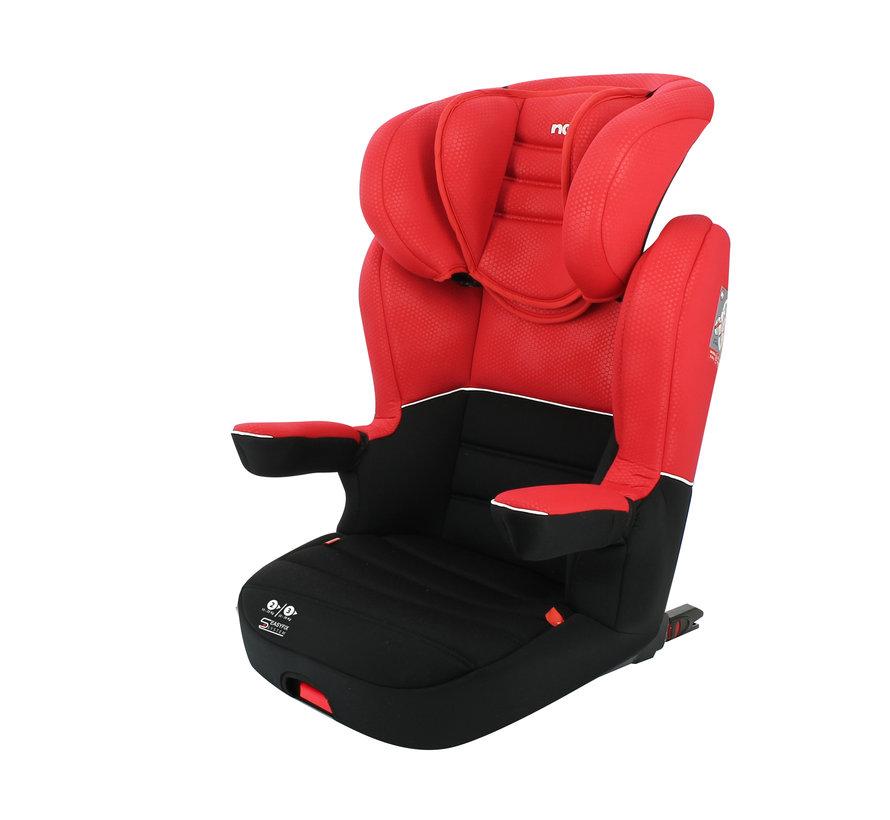 R-Way LUXE - Isofix autositze Gruppe 2 und 3 - Grau, Blau, Rot