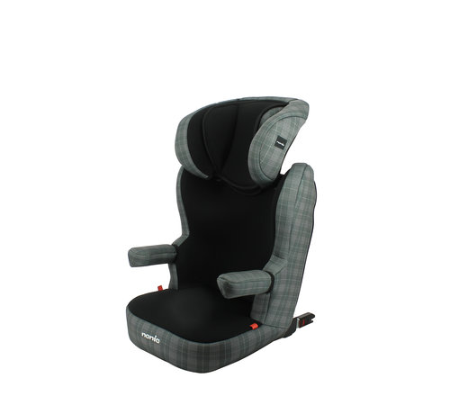 Nania R-Way LONDON - Highback Isofix booster Group 2 and 3 - Black, Grey