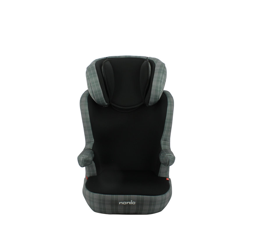 R-Way LONDON - Highback Isofix booster Group 2 and 3 - Black, Grey