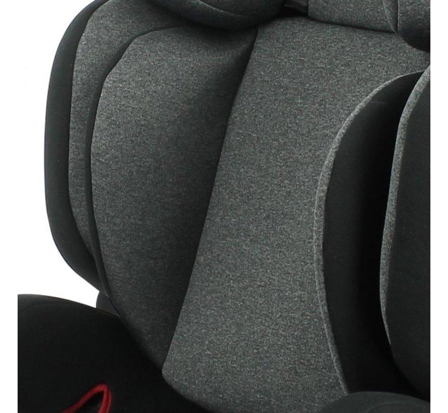 isofix Autositz Mirage - Gruppe 2/3 - 15 bis 36 kg - Grau